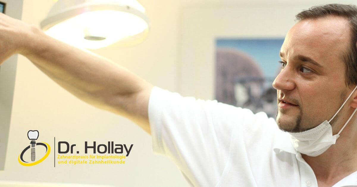 Praxismarketing für Zahnarzt Dr. Hollay