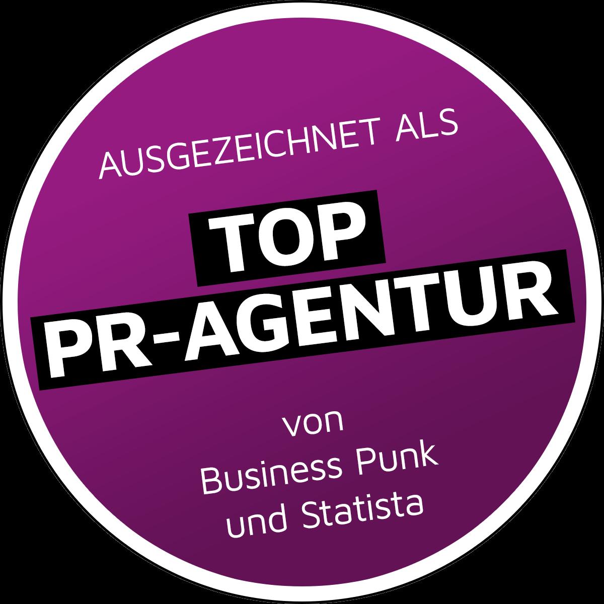 Wir wurden als eine der 150 Top PR-Agenturen ausgezeichnet!