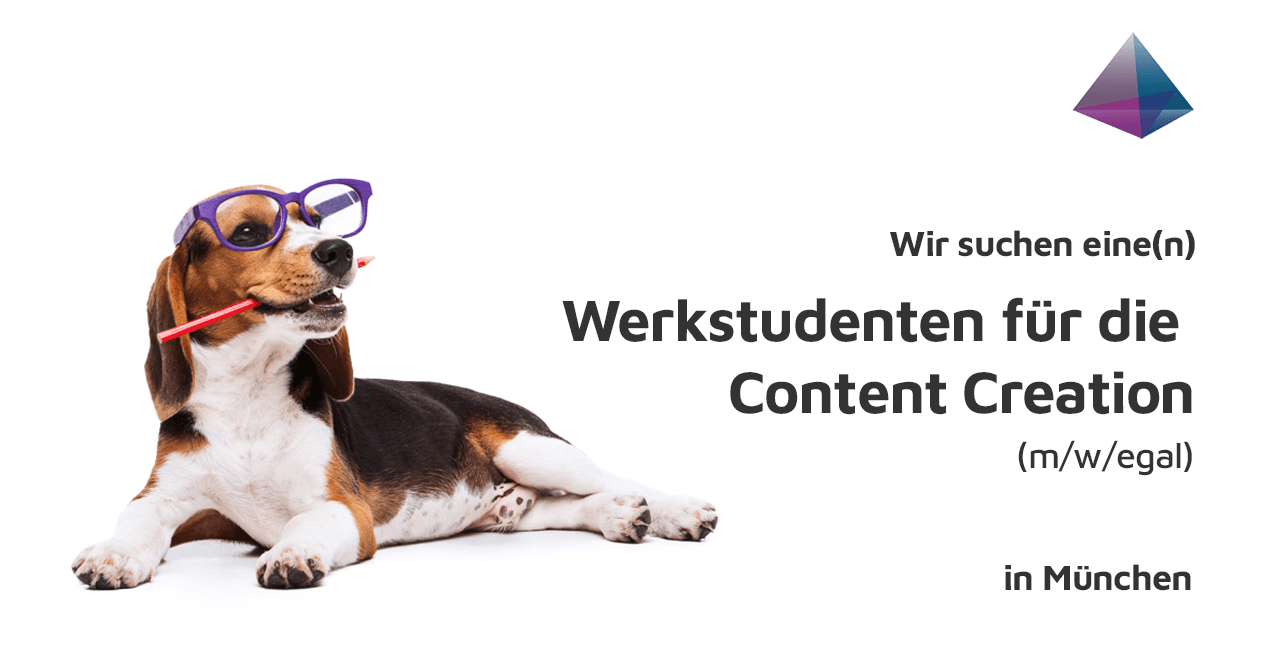 Gesucht: Werkstudent für die Content Creation