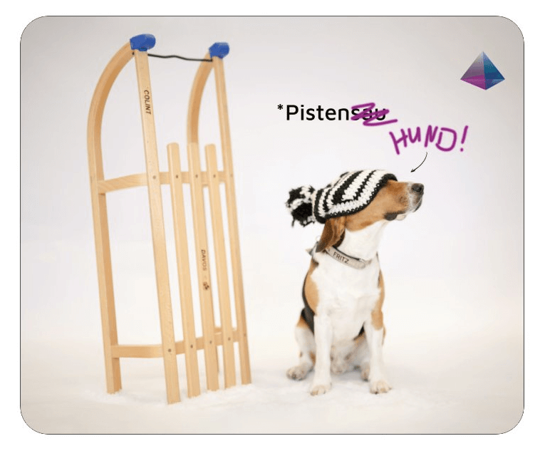 "Fritz-Mousepad ""Pistensauhund"""
